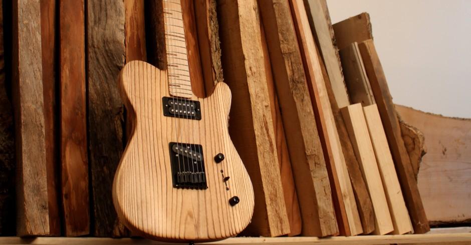 Reclaimed Wood Guitar From P & P Guitars